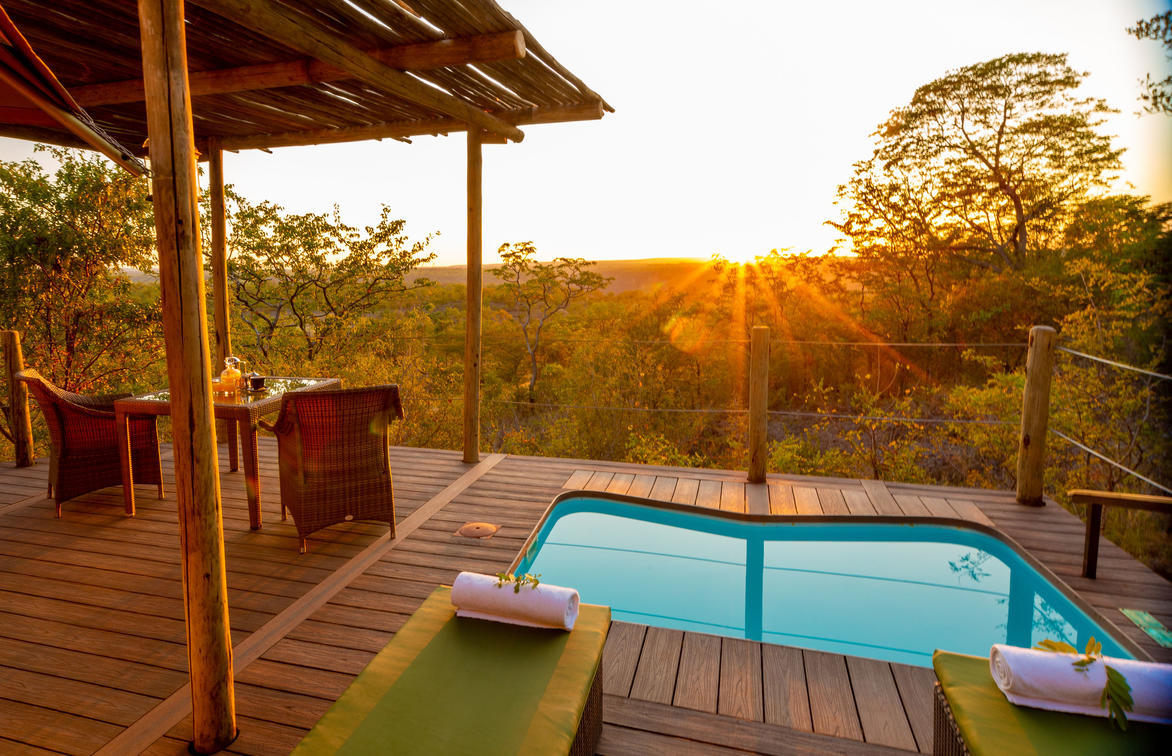 The Elephant Camp Luxury Tented Suites