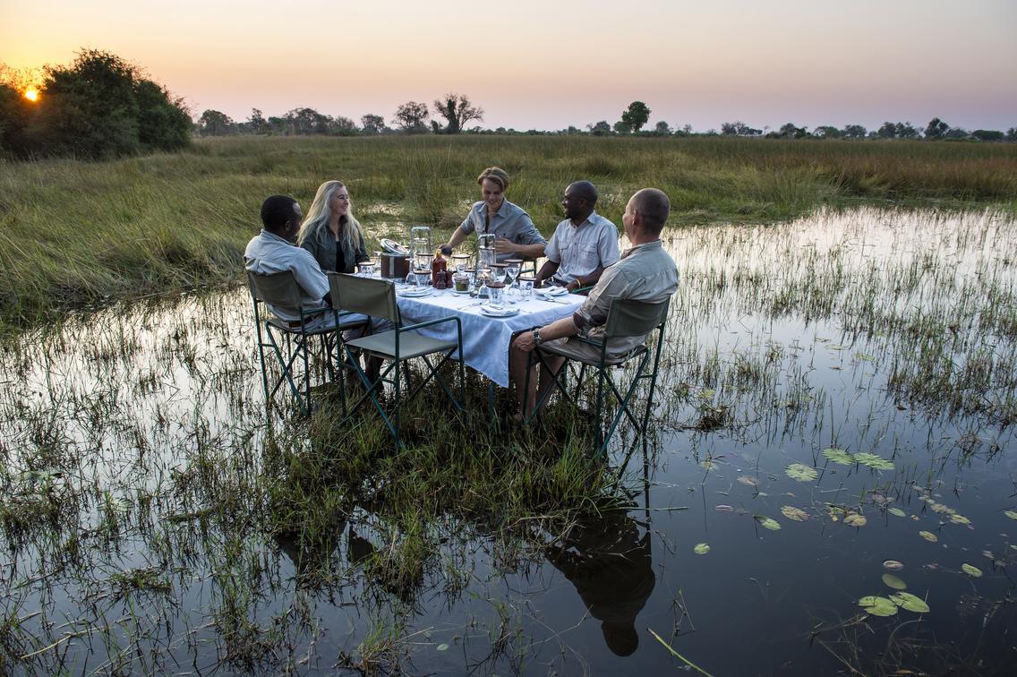 Okavango Delta, Chobe & Victoria Falls Itinerary