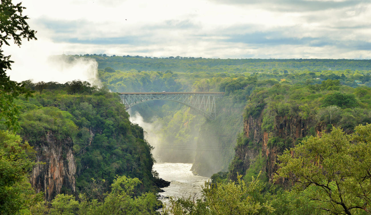 Victoria Falls, Old Drift Lodge, The Elephant Camp Itinerary